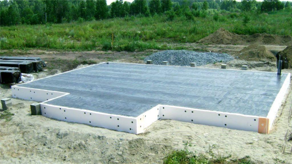 фундамент монолитная плита в Кинешме