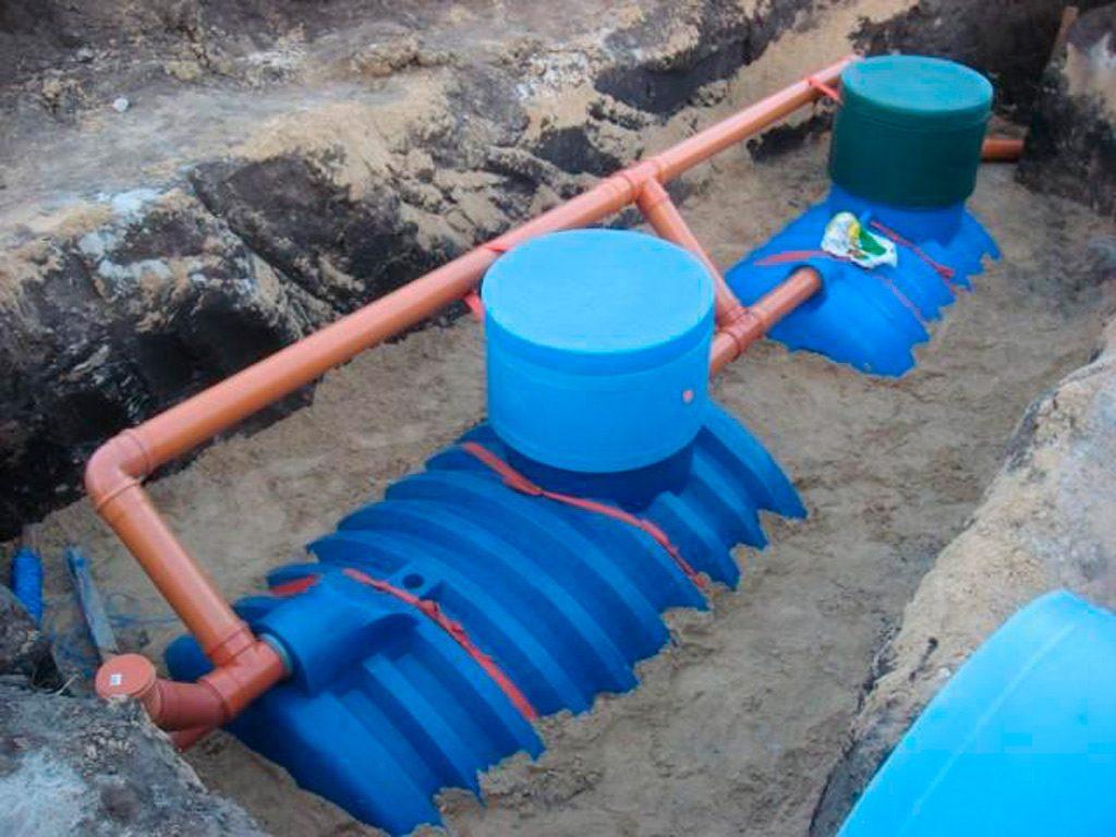 Монтаж канализации и септиков в Кинешме и Ивановской области