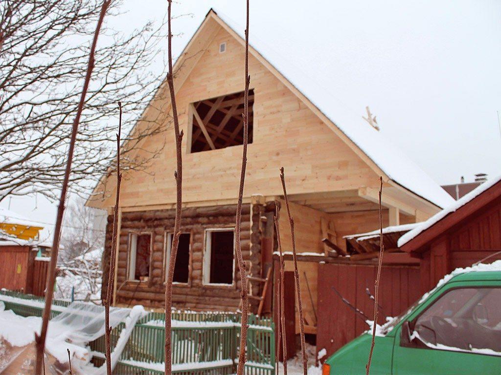Реконструкция частных домов в Кинешме и Ивановской области