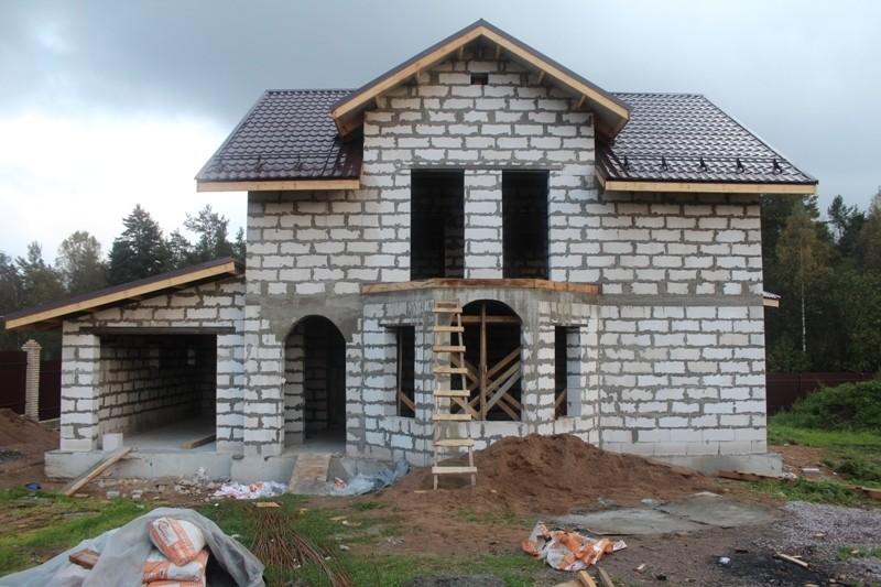 Строительство домов из газосиликата под ключ в Кинешме