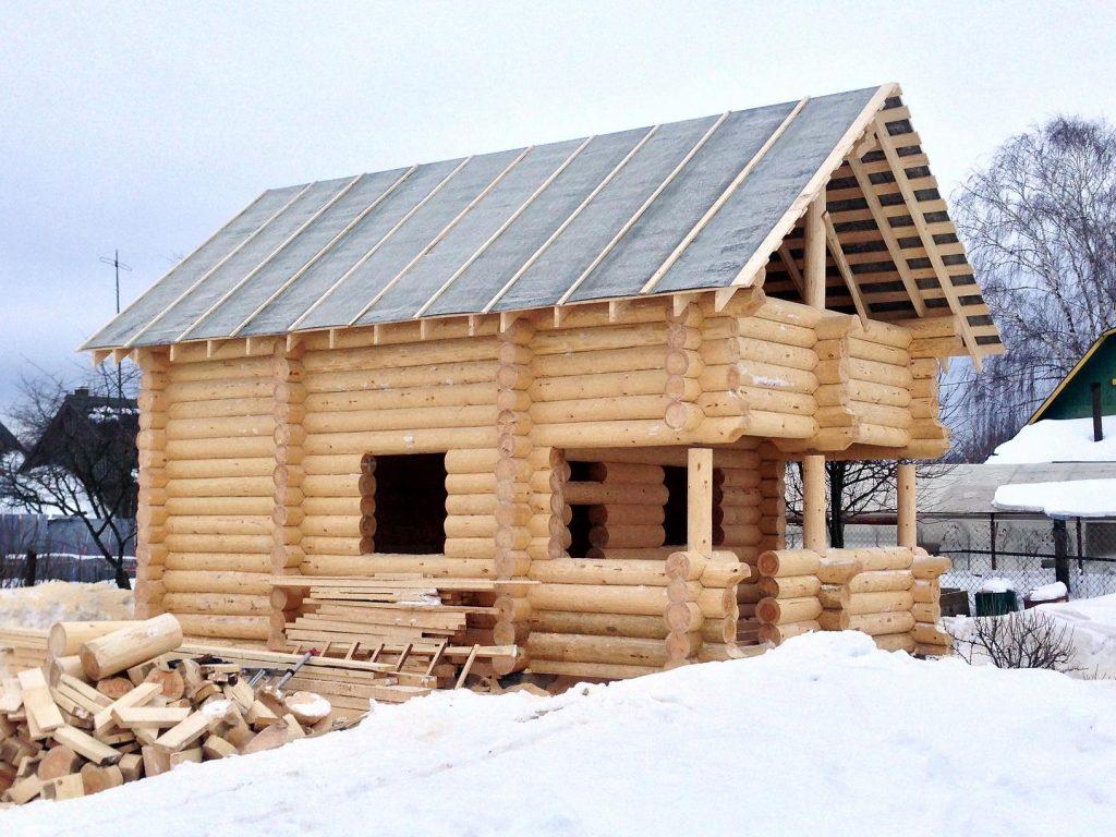 Строительство домов под ключ из бревна в Кинешме