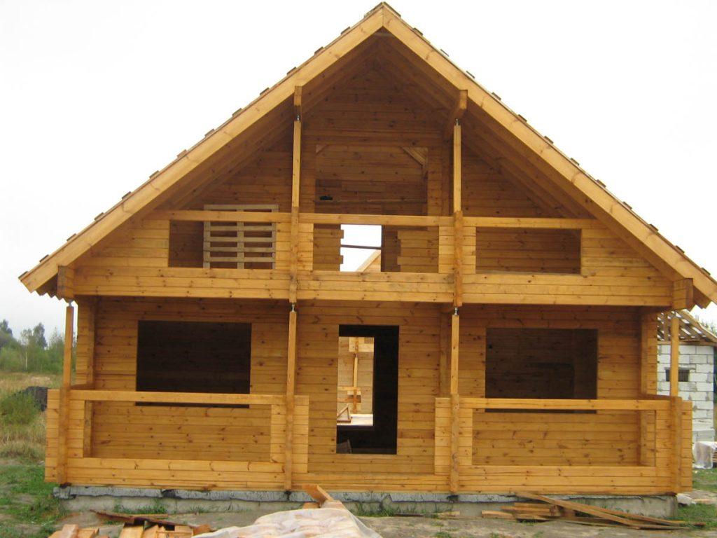 Строительство домов под ключ из бруса в Кинешме