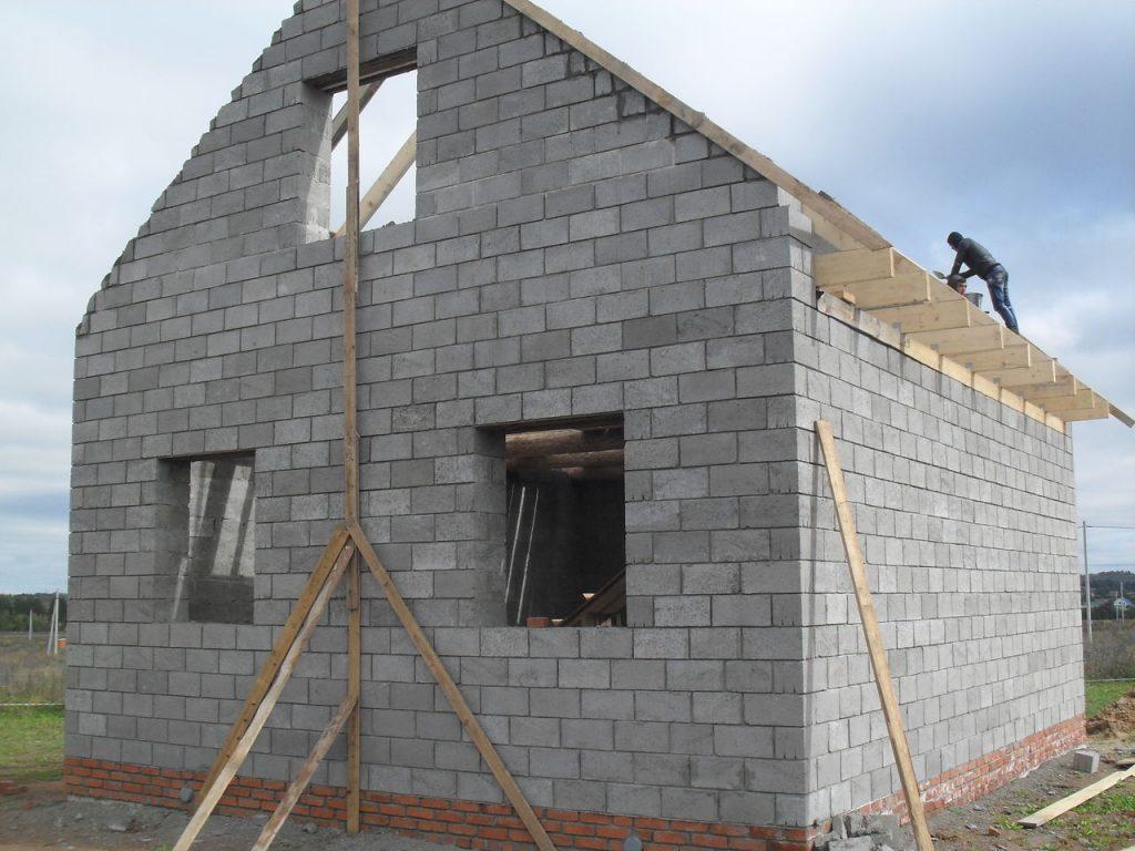 Строительство из пескобетонных блоков в Кинешме
