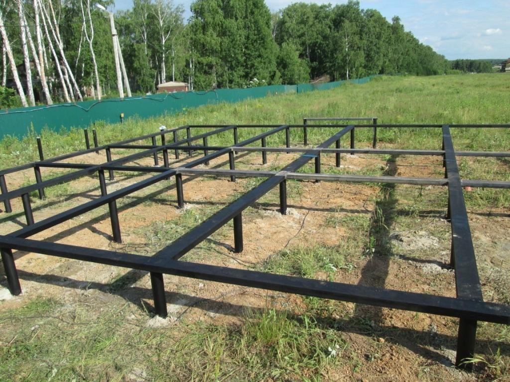 Свайно-винтовой фундамент в Кинешме от Жилстрой-37