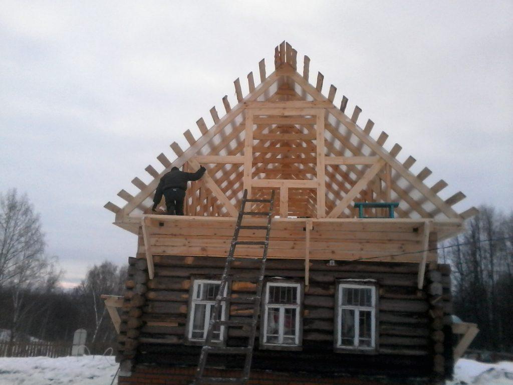 Ремонт бревенчатых домов в Кинешме
