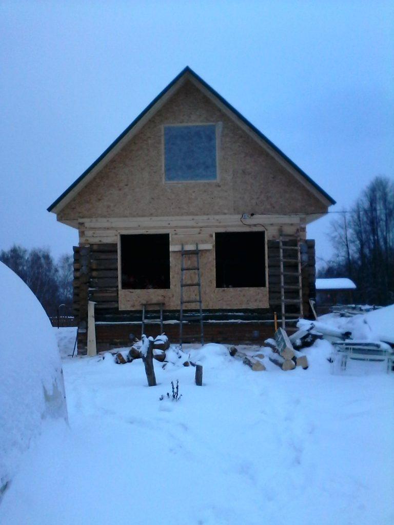 Ремонт бревенчатых домов.