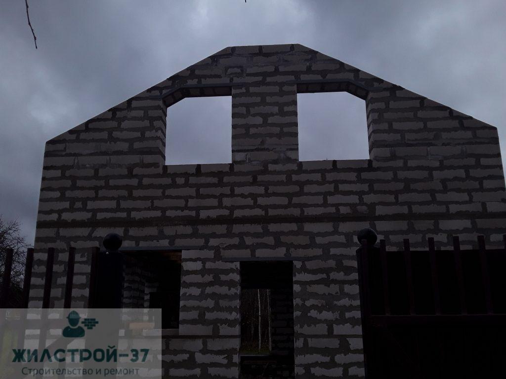 Строительство дома из газосиликатных блоков в Кинешме