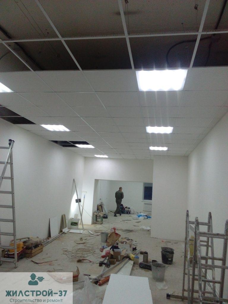 Отделочные работы коммерческого помещения в Кинешме.