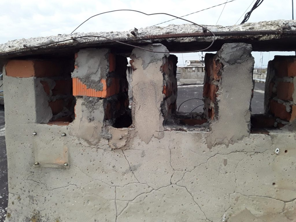 Реставрация вентиляционных шахт