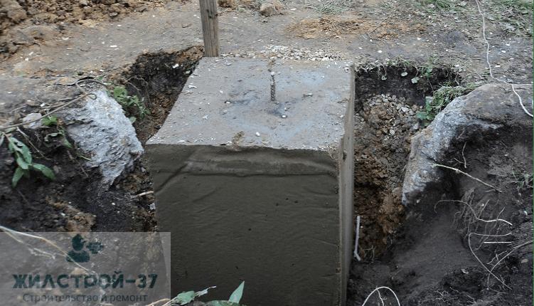 Недорогой фундамент столбчатый в Кинешме