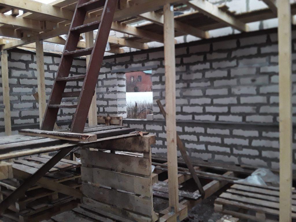 Строительство дома в Кинешме