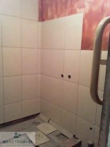 Ремонт ванной комнаты,укладка плитки в Кинешме